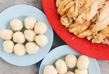 马六甲美食图片-鸡饭粒