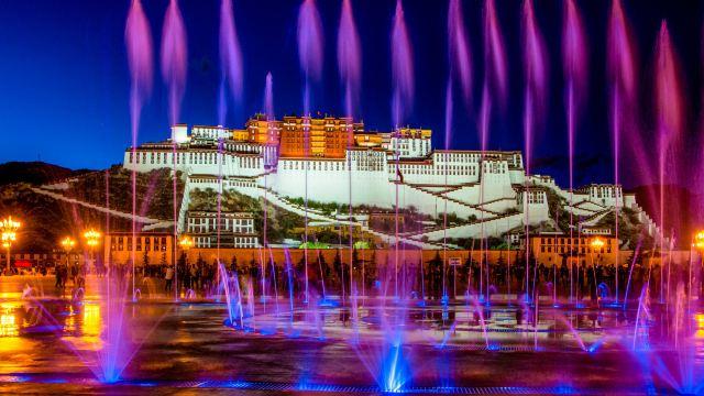 西藏拉萨布达拉宫+大昭寺一日游【蓝牙耳机+多选套餐 随机出票】