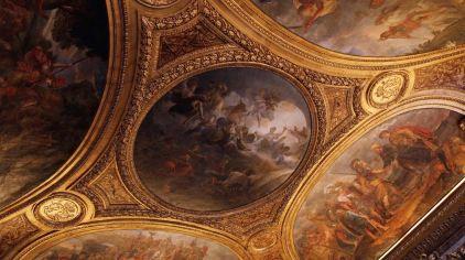 凡爾賽宮_屋頂永遠是歐洲宮殿裡一道美麗的風景