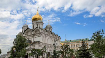 俄罗斯-莫斯科-克里姆林宫内教堂