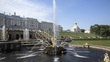 俄罗斯-圣彼得堡-夏宫