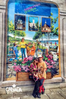 皇家广场-魁北克城-馋嘴囡GOGO吃遍世界