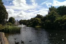 圣詹姆斯公园-伦敦-小灰猫