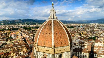 意大利 佛罗伦萨 圣母百花大教堂