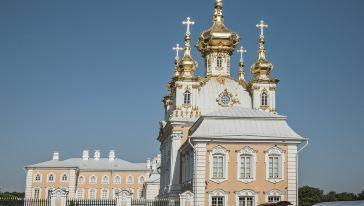 俄罗斯-圣彼得堡-彼得大帝的夏宫