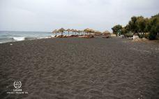 贝里沙海滩-圣托里尼-糖火烧