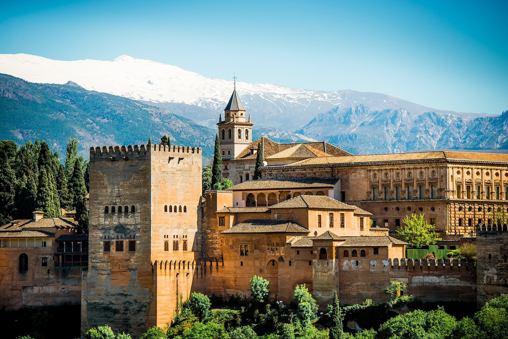 Alhambra tickets and guided tour from Málaga