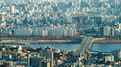 韩国_首尔_南山塔顶鸟瞰3