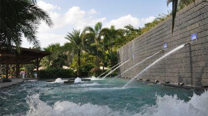 半月山温泉-水疗池