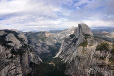 冰川点观景点-优胜美地国家公园及周边地区-doris圈圈