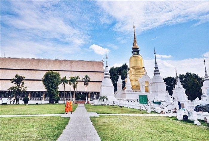 松達寺  Wat Suan Dok   -4