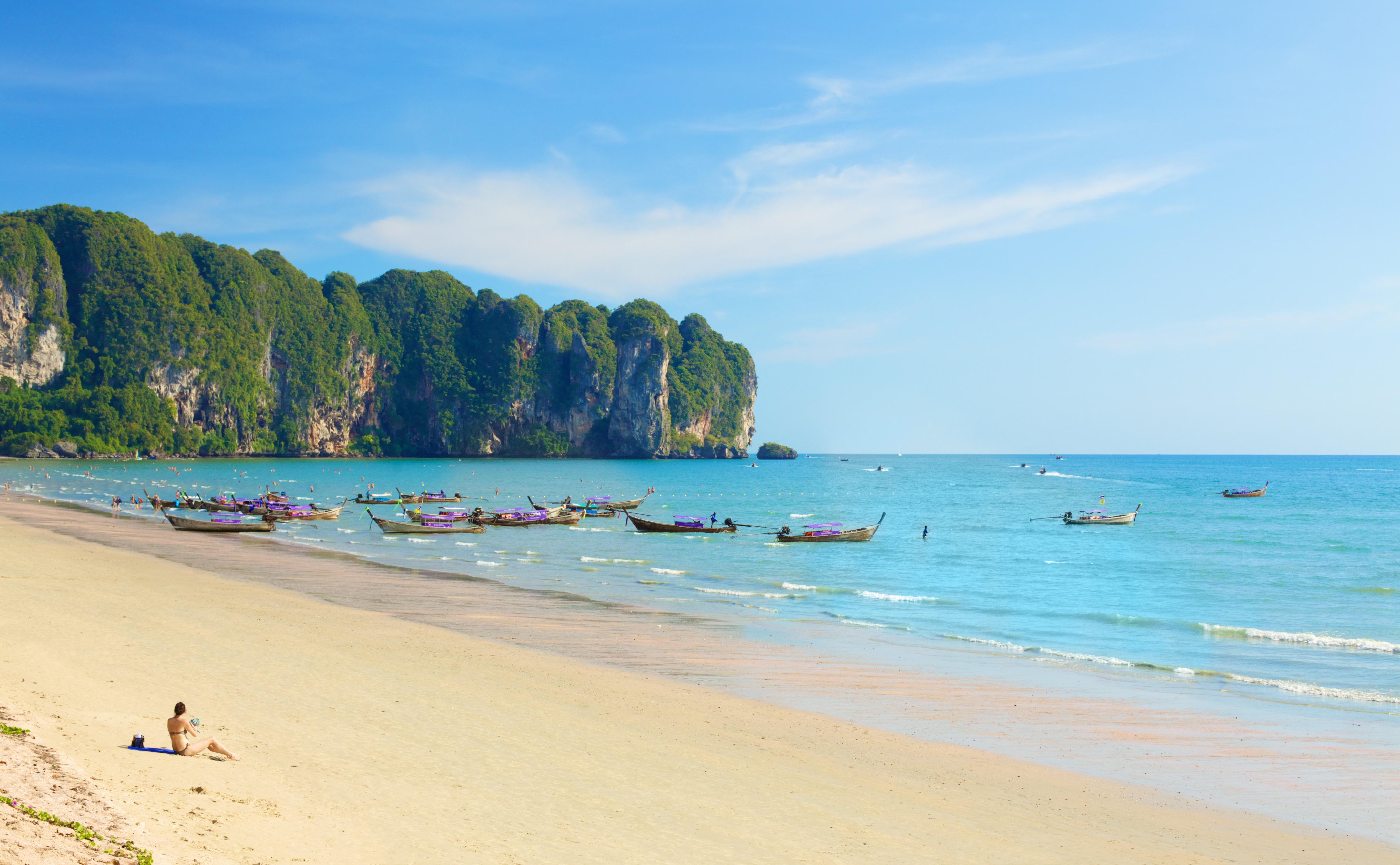 奧南海灘  Ao Nang Beach   -2
