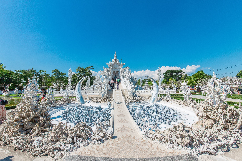白廟  Wat Rong Khun   -4