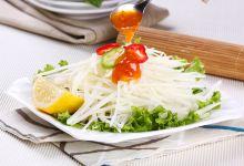 芭堤雅美食图片-青木瓜沙拉