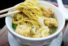 香港美食图片-云吞面
