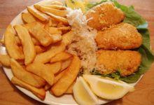 伦敦美食图片-炸鱼薯条