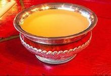 日喀则美食图片-青稞酒