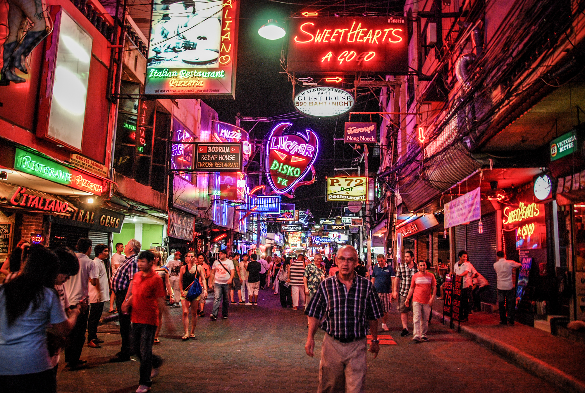 風月步行街  Walking Street Pattaya   -1