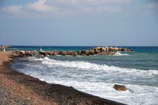 卡马利黑沙滩-圣托里尼-koyama喵