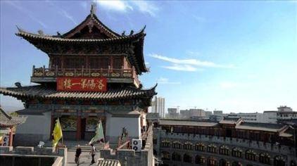 丽景门第一楼
