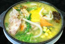 长滩岛美食图片-牛骨汤