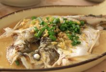 西塘美食图片-清蒸白水鱼