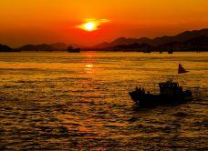 东门岛渔村-象山-简单的车夫