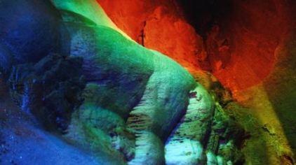 神仙洞-五彩溶洞