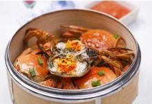 雁荡山美食图片-清蒸海蟹